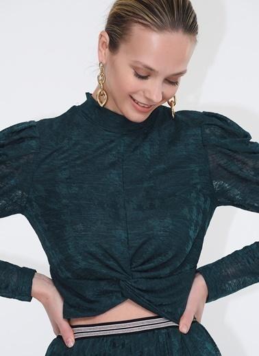 Tuba Ergin Bluz Yeşil